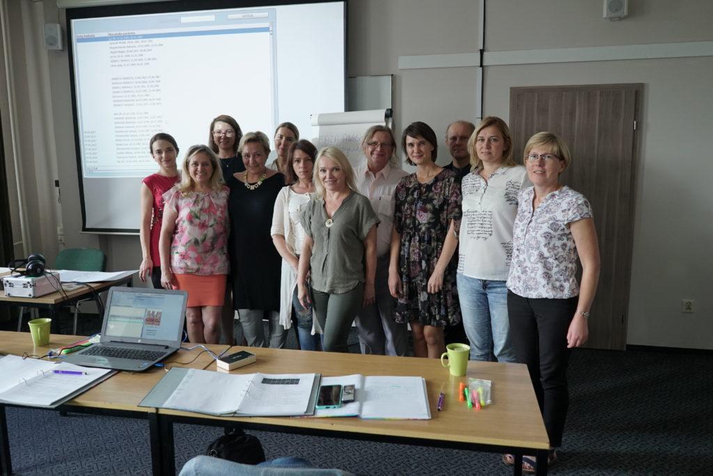 Uczestnicy szkolenia 8DNLS Akademia Diagnosty Aurum