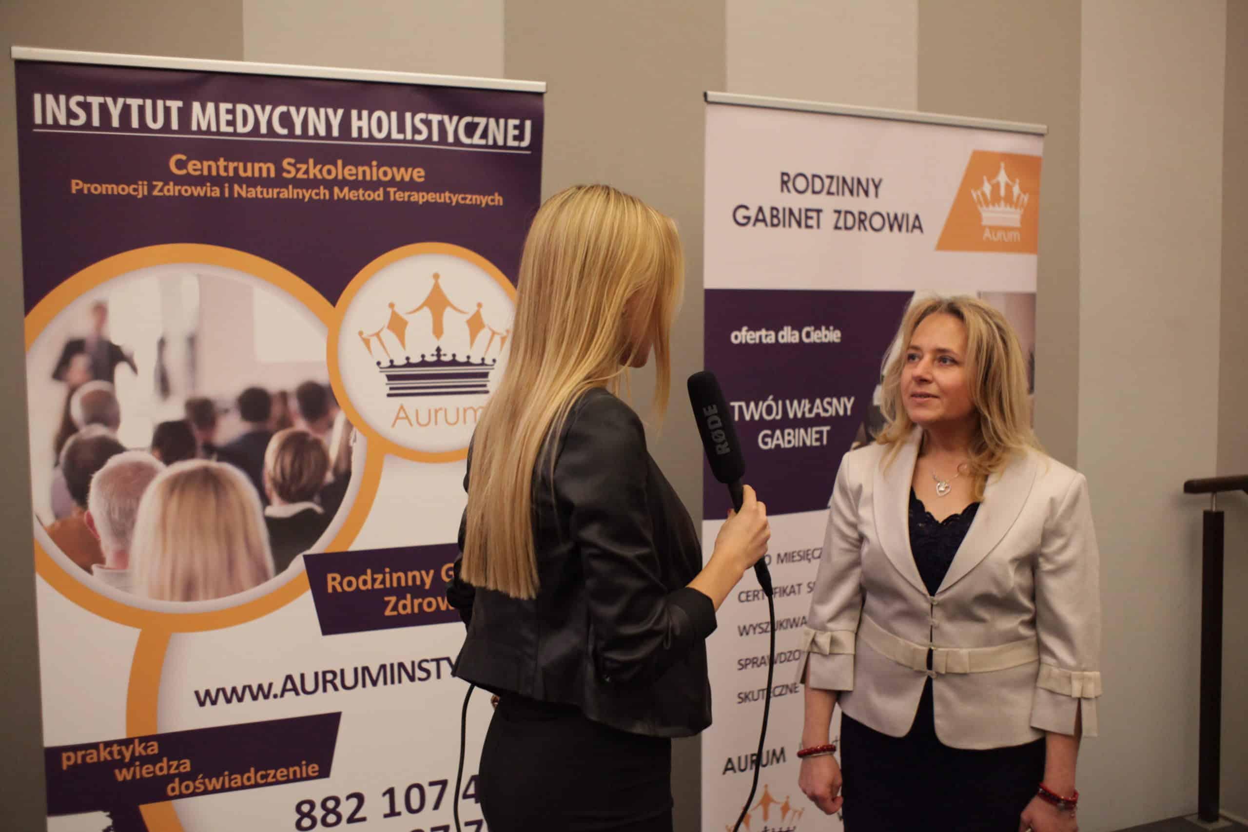 Justyna Chmielewska wywiad Aurum Akademia Diagnosty